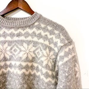 Vintage Club Monaco Wool Knit Sweater